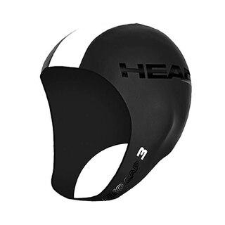 HEAD Neo Svømmehette Sort/Hvit, Str. L/XL