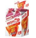 High5 Energigel+ Bringebær - 20 PACK Koffein, 20 x 40 gram