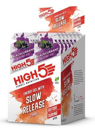 HIGH5 SRC Energigel Solbær - 14 PACK 14 x 62 gram