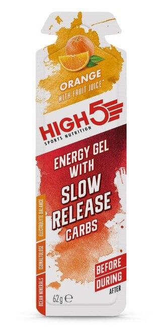 HIGH5 SRC Energigel Appelsin 62 gram