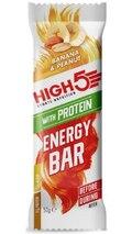 HIGH5 Energibar Protein Peanøtt/Banan 12 PACK
