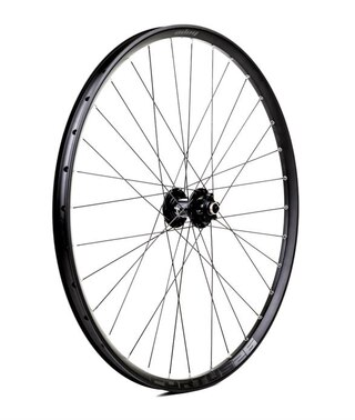 "Hope 27.5"" Fortus 26W Pro 4 Bakhjul Sort, 135/142x12mm, 6 bolt, MS Boss"