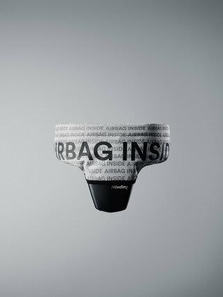 Hövding Airbag Trekk Grå/sort
