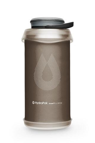 HydraPak Stash 1L Flaske Mammoth Grey