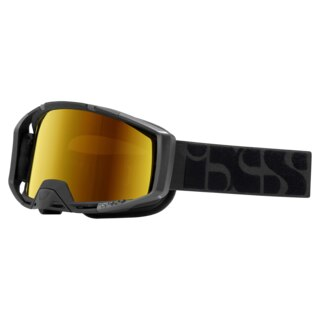 iXS Trigger Goggles Black / Mirror Gold