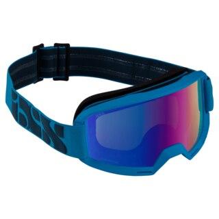 iXS Hack Race Goggles Racing blue / Mirror cobalt
