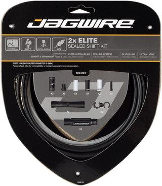 Jagwire Elite Sealed Girwiresett 2x, SRAM®/Shimano® Road & MTB