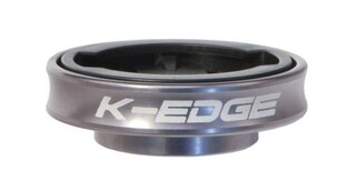K-Edge Garmin Gravity Cap Mount Gun Metal,18 gram