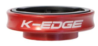 K-Edge Garmin Gravity Cap Mount Rød, 18 gram
