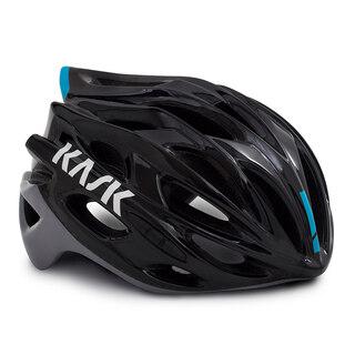 Kask Mojito X Hjelm Sort/blå, Luftig og lett, 220 gram