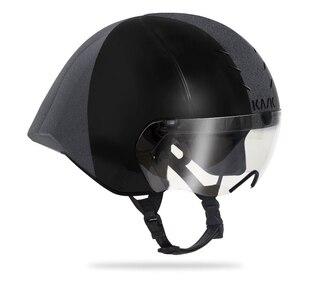 Kask Mistral Hjelm Sort/Grå, Aerodynamisk fordel, 340 gram
