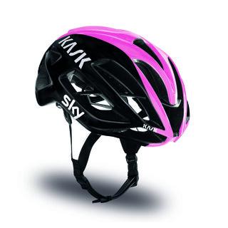 Kask Protone Giro Edition Hjelm Sort/Rosa