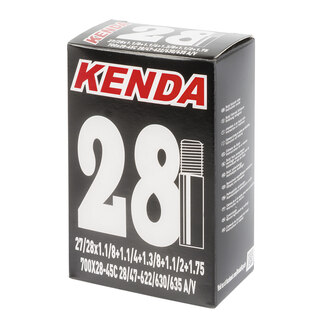 Kenda Standard 28/47- 622 Slang Butyl, 700 x 28/45C, 32 mm Racerventil