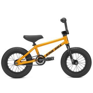 """Kink Roaster 12"""" BMX 2021 Oransje, 12"""", 12,5TT"""