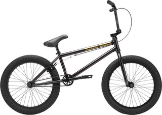 Kink Gap BMX 2021 Gloss Black Chrome, TT 20,5""