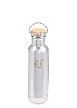 Klean Kanteen Isolerad Reflect Flaska Mirrored Stainless, m/Bamboo Cap, 592 ml