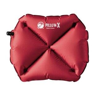 Klymit Pillow X Kudde Röd, 38 x 23 x 9 cm, 71g