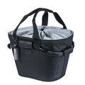 Basil 2Day Carry All KF Front Sykkelkurv Sort, Polyester, 15 liter