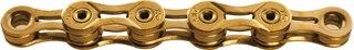 KMC X9SL Ti-N Gold Kjede Gull, 9-delt, 114 lenker, 272g