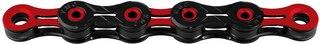 KMC X-11 SL DLC Super Light Kjede Rød/Svart, 11-delt, 118 lenker, 247g