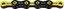 KMC X-11 SL DLC Super Light Kjede Sort/Gul, 11-delt, 116 lenker, 247g