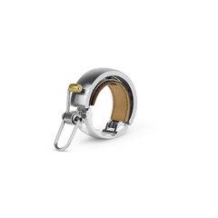 Knog Oi Luxe Large Ringeklokke Sølv, Alu. Ø23,8 - 31,8mm. Landevei