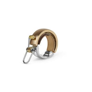 Knog Oi Luxe Large Ringeklokke Brass, Alu. Ø23,8 - 31,8mm. Landevei