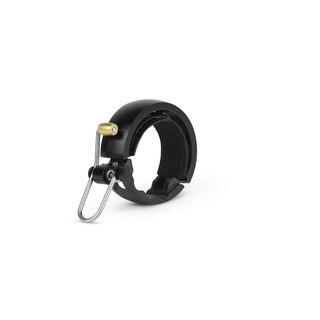 Knog Oi Luxe Large Ringeklokke Sort, Alu. Ø23,8 - 31,8mm. Landevei