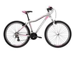 """Kross Lea 2.0 27.5"""" Terrengsykkel Sølv/hvit/rosa, Str. XS"""