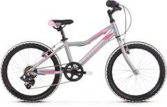Kross Lea Mini 1.0 SR Barnesykkel Silver/Pink