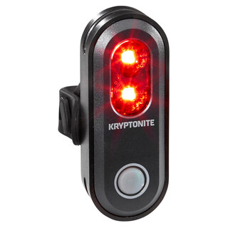 Kryptonite R-45 Baklampa 45 lumen, USB uppladdningsbar