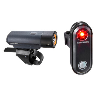 Kryptonite Street F-300 Belysningset 300 lumen, USB uppladdningsbar