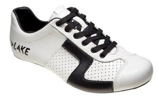 Lake CX 1 Kolfiber skor Vit/Svart, För högpresterande användning