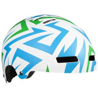 Lazer Street JR Cykelhjälm Barn Electricgrön, 52-56 cm