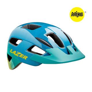 Lazer Gekko MIPS Hjelm Blue/Yellow, 50-56 cm