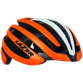 Lazer Z1 Hjelm Oransje/Hvit, Str. S