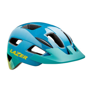 Lazer Gekko Cykelhjälm Barn Blue/Yellow, 50-56 cm