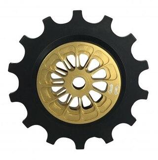 Leonardi Shimano XTR Trinsehjul Gull