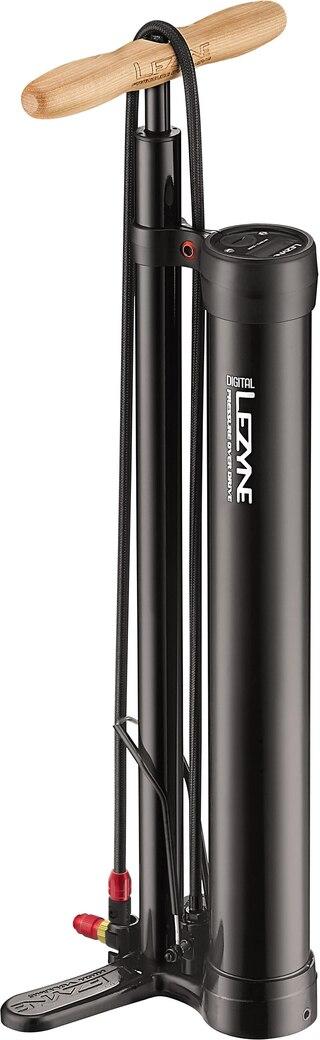 Lezyne Pressure Over Drive Digital Pumpe 220 psi/15 bar, Perfekt til tubeless