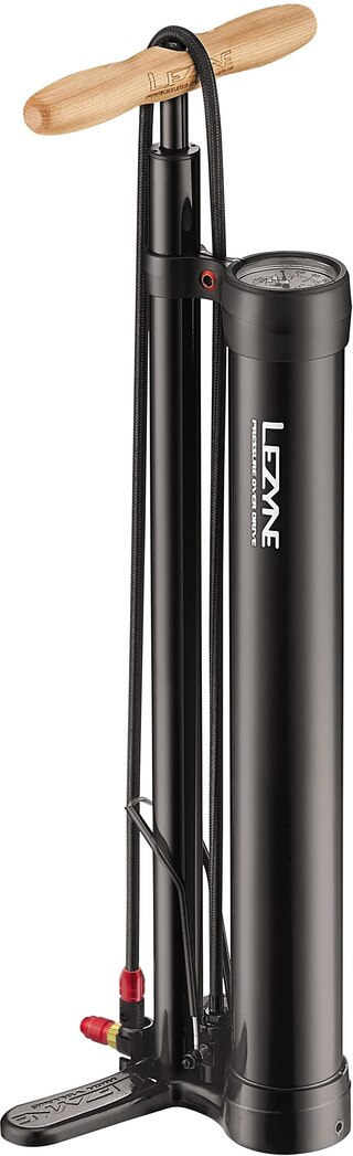 Lezyne Pressure Over Drive Pumpe 220 psi/15 bar, Perfekt til tubeless