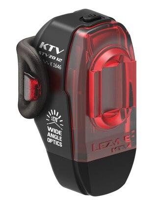 Lezyne KTV StVZO Baklys 4/11 lumen, 6,5-12 timer, USB, 54 g