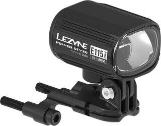 Lezyne Ebike Power Pro E115 Frontlys Med bryter, 115 lux, 6w, 6-12V, IPX7