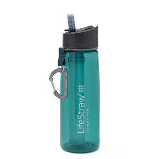 LifeStraw Go Flaska m/Vattenfilter Dark Teal, 1000 ml