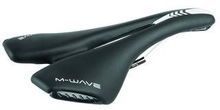 M-Wave Spider Sadel Svart, 280x144mm, titanrails, 317g