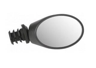 M-Wave Spy Oval Backspegel Svart, Justerbar