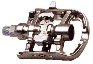 M-Wave Kombipedaler Sølv, SPD kombi, 486 gr. per sett