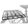 M-Wave Racky baseplate til bagasjebrett Sort, Aluminium, 40 x 40 cm