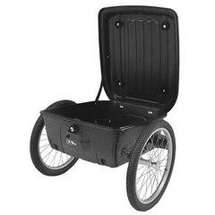 """M-Wave Carry All Box Tilhenger 100% vanntett, 20"""" hjul, 70 liter"""