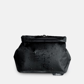 Matador FlatPak Toalettmappe Sort, Vanntett, 24 x 14 x 9.5 cm, 33g
