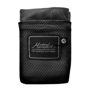 Matador Pocket Blanket Sort, 160x110cm